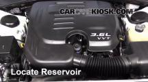 2013 Dodge Charger SE 3.6L V6 FlexFuel Líquido limpiaparabrisas