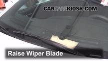 2013 Dodge Charger SE 3.6L V6 FlexFuel Escobillas de limpiaparabrisas delantero