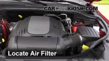 2011 Dodge Durango Crew 3.6L V6 FlexFuel Air Filter (Engine)