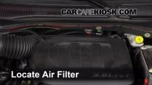2013 Dodge Grand Caravan SXT 3.6L V6 Air Filter (Engine)