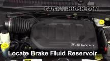 2013 Dodge Grand Caravan SXT 3.6L V6 Líquido de frenos