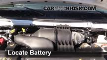 2013 Ford E-350 Super Duty XLT 5.4L V8 FlexFuel Standard Passenger Van Battery