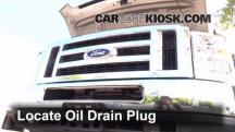 2013 Ford E-350 Super Duty XLT 5.4L V8 FlexFuel Standard Passenger Van Oil