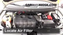 2013 Ford Edge SE 2.0L 4 Cyl. Turbo Filtro de aire (motor)