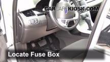 2013 Ford Edge SE 2.0L 4 Cyl. Turbo Fusible (interior)