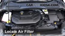 2013 Ford Escape SEL 2.0L 4 Cyl. Turbo Filtro de aire (motor)