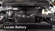 2013 Ford F-150 XLT 3.7L V6 FlexFuel Standard Cab Pickup Battery