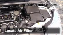2013 Ford Focus SE 2.0L 4 Cyl. FlexFuel Hatchback Air Filter (Engine)