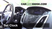 2013 Ford Focus SE 2.0L 4 Cyl. FlexFuel Hatchback Clock