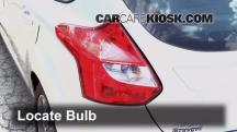 2013 Ford Focus SE 2.0L 4 Cyl. FlexFuel Hatchback Lights