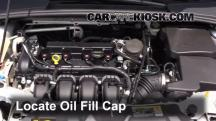 2013 Ford Focus SE 2.0L 4 Cyl. FlexFuel Hatchback Fluid Leaks