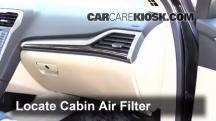 2013 Ford Fusion SE 2.0L 4 Cyl. Turbo Air Filter (Cabin)