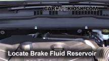 2013 Ford Fusion SE 2.0L 4 Cyl. Turbo Brake Fluid