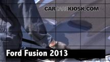 2013 Ford Fusion SE 2.0L 4 Cyl. Turbo Review