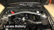 2013 Ford Mustang 3.7L V6 Convertible Battery