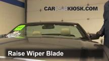 2013 Ford Mustang 3.7L V6 Convertible Escobillas de limpiaparabrisas delantero