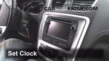 2013 GMC Acadia SLT 3.6L V6 Clock