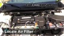 2013 Honda Accord EX-L 2.4L 4 Cyl. Sedan Filtro de aire (motor)