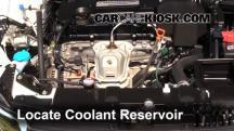 2013 Honda Accord EX-L 2.4L 4 Cyl. Sedan Pérdidas de líquido