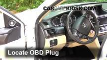 2013 Honda Accord EX-L 2.4L 4 Cyl. Sedan Compruebe la luz del motor