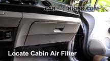 2013 Honda Insight LX 1.3L 4 Cyl. Filtro de aire (interior)