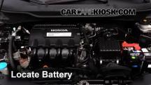 2013 Honda Insight LX 1.3L 4 Cyl. Battery