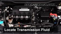 2013 Honda Insight LX 1.3L 4 Cyl. Transmission Fluid
