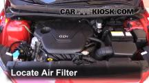 2013 Hyundai Accent GLS 1.6L 4 Cyl. Air Filter (Engine)
