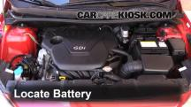2013 Hyundai Accent GLS 1.6L 4 Cyl. Battery
