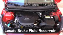 2013 Hyundai Accent GLS 1.6L 4 Cyl. Brake Fluid