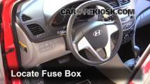 2013 Hyundai Accent GLS 1.6L 4 Cyl. Fuse (Interior)