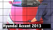 2013 Hyundai Accent GLS 1.6L 4 Cyl. Review
