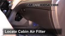 2013 Hyundai Santa Fe GLS 3.3L V6 Air Filter (Cabin)