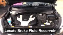 2013 Hyundai Santa Fe GLS 3.3L V6 Brake Fluid