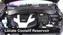 2013 Hyundai Santa Fe GLS 3.3L V6 Coolant (Antifreeze)