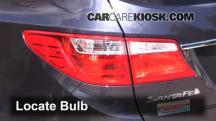 2013 Hyundai Santa Fe GLS 3.3L V6 Lights