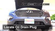 2013 Hyundai Santa Fe GLS 3.3L V6 Aceite