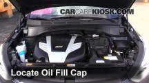 2013 Hyundai Santa Fe GLS 3.3L V6 Oil