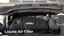 2013 Hyundai Santa Fe Sport 2.4L 4 Cyl. Air Filter (Engine)