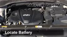 2013 Hyundai Santa Fe Sport 2.4L 4 Cyl. Battery