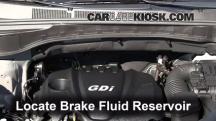 2013 Hyundai Santa Fe Sport 2.4L 4 Cyl. Brake Fluid