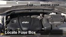 2013 Hyundai Santa Fe Sport 2.4L 4 Cyl. Fusible (motor)