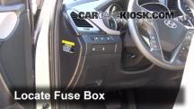 2013 Hyundai Santa Fe Sport 2.4L 4 Cyl. Fusible (interior)