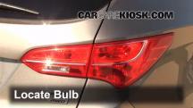 2013 Hyundai Santa Fe Sport 2.4L 4 Cyl. Lights