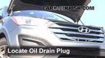 2013 Hyundai Santa Fe Sport 2.4L 4 Cyl. Aceite