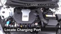 2013 Hyundai Veloster Turbo 1.6L 4 Cyl. Turbo Aire Acondicionado