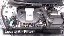2013 Hyundai Veloster Turbo 1.6L 4 Cyl. Turbo Filtro de aire (motor)