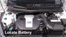 2013 Hyundai Veloster Turbo 1.6L 4 Cyl. Turbo Battery