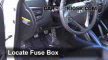 2013 Hyundai Veloster Turbo 1.6L 4 Cyl. Turbo Fuse (Interior)