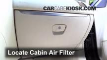 2013 Infiniti FX37 3.7L V6 Filtro de aire (interior)